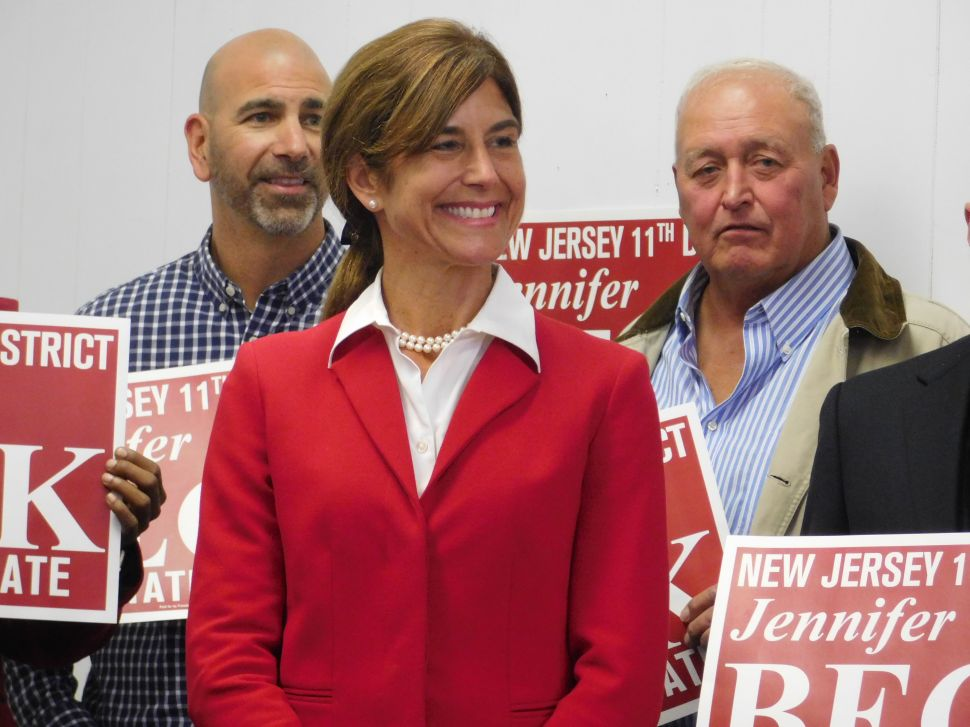 In NJ-11, Beck Announces She Will Run for Re-Election