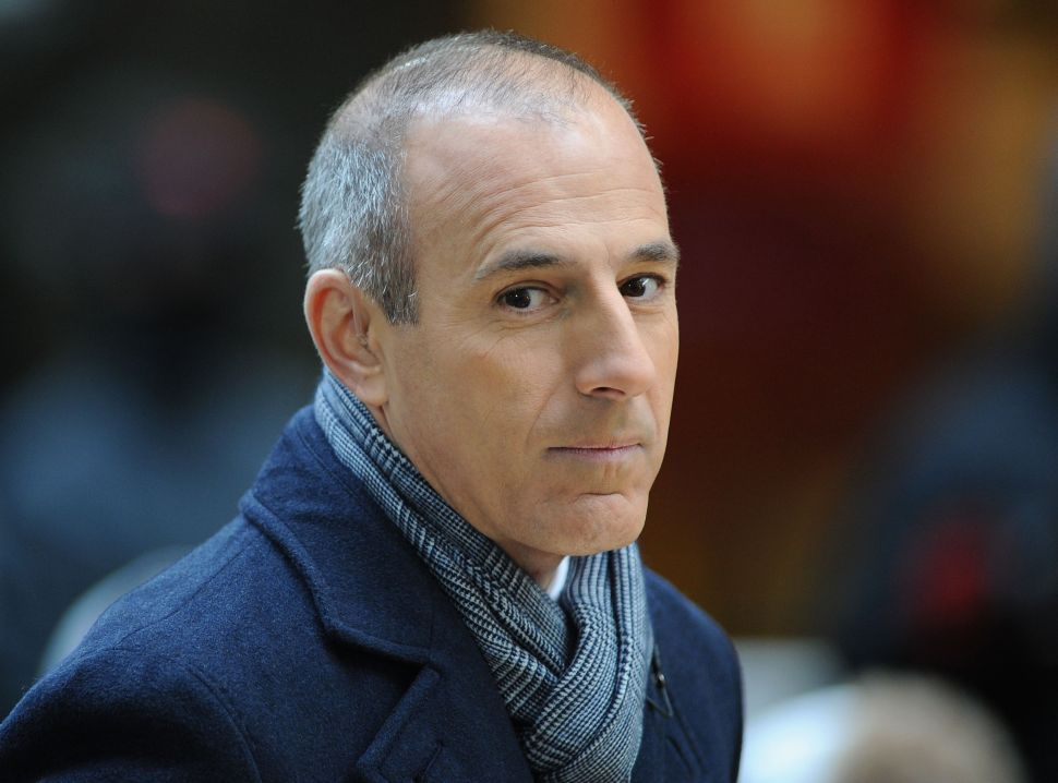 Matt Lauer Fired by NBC Over Sexual Misconduct Allegations