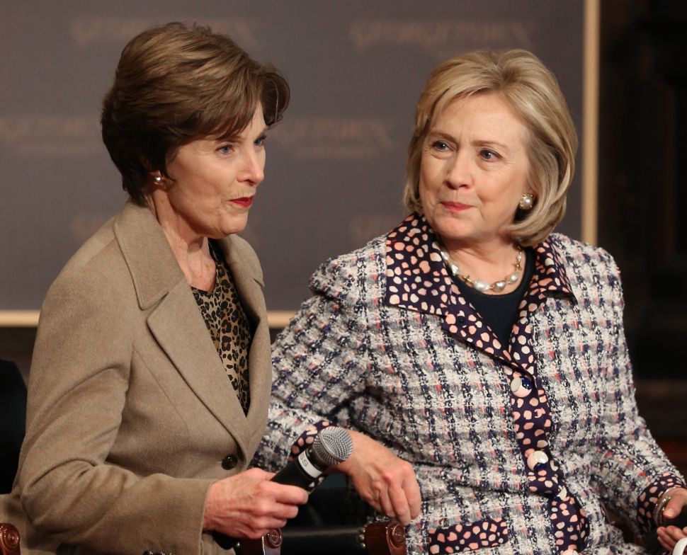 Would an Endorsement by Laura Bush Seal the Deal for Hillary Clinton?