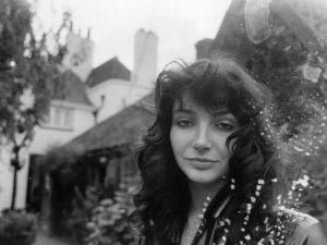 Kate Bush at her family's home in East Wickham, London, September 1978.