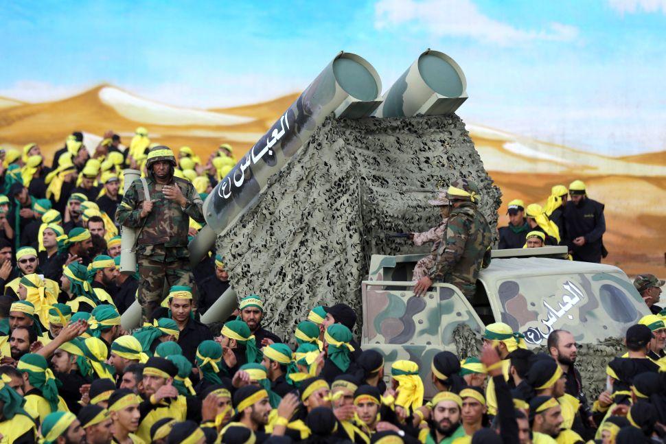 Hezbollah Shows Off Stolen US Weapons to Threaten Israel