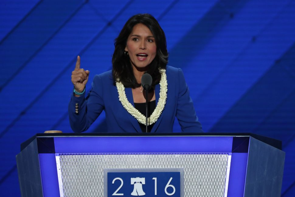 Tulsi Gabbard to Join Veterans at Standing Rock to Protest Dakota Access Pipeline