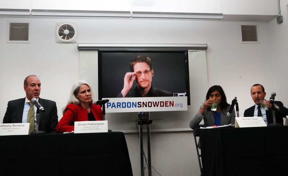 Snowden Fires Back at Obama's War on Whistleblowers