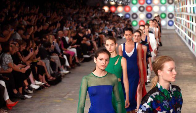 Boss Womenswear at New York Fashion Week in September 2016.