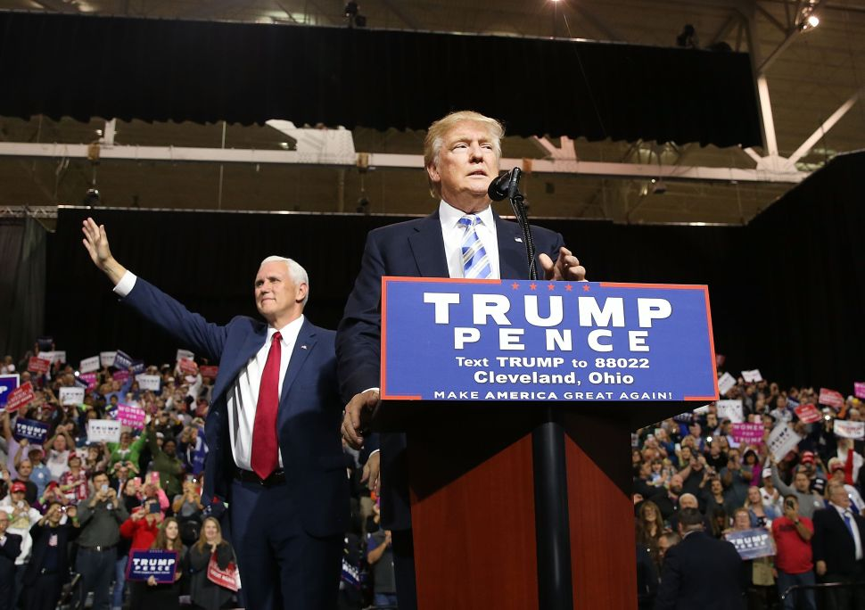 The RNC Spins, But Trump Is Still Sputtering