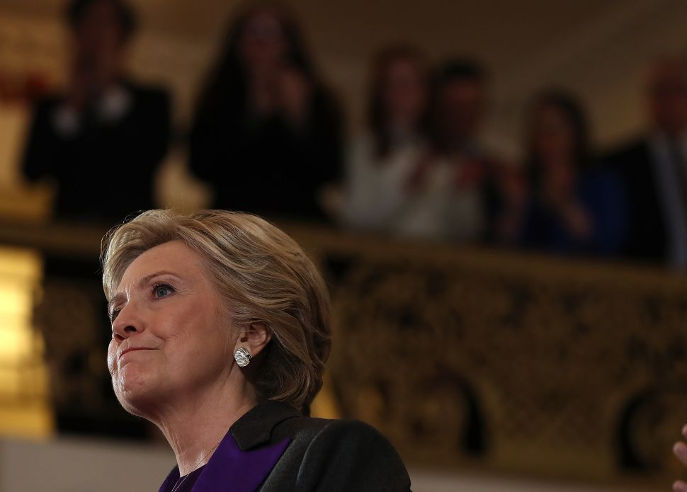 Clinton Raising Election Doubts to 'Keep Her Options Open' for 2020