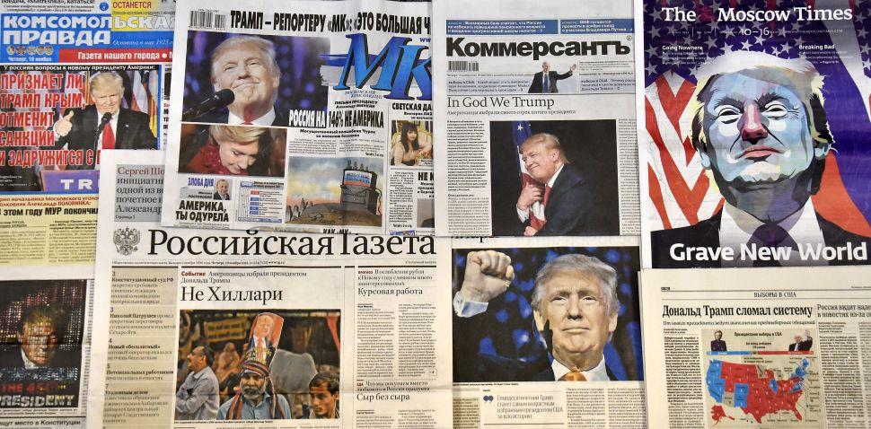 Anti-Putin Russians in Shock Over Trump Victory