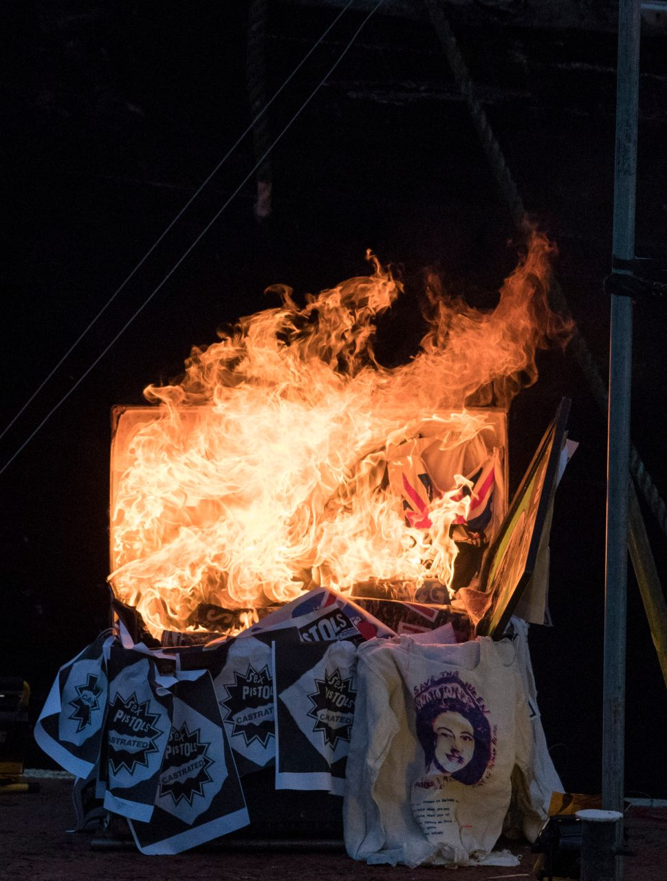 Joe Corré's Bonfire Stunt Was the Least Punk Protest Ever—and a Hoax