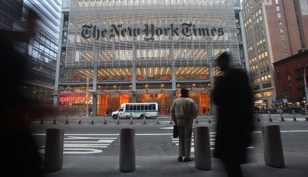 What's up with the New York Times TV series?