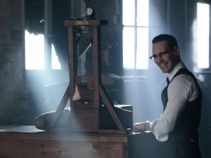 Cory Michael Smith as Edward Nygma in Gotham.