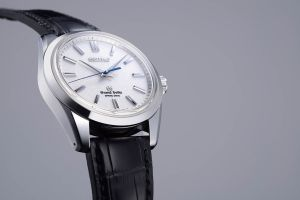 Seiko recently introduced the Grand Seiko collection into the USA, which had been reserved for the Japanese market. Impeccable watchmaking combined with the brand's ground-breaking Spring Drive movement makes this watch a must have. $55,000