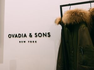 Ovadia & Sons' 63 Green St. pop-up store
