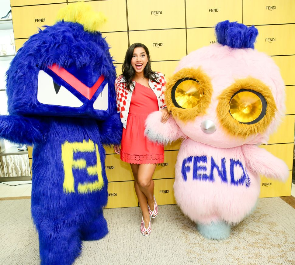Bidding 'Furwell' to Fendi's Adorable Mascots, Piro-Chan & Bug-Kun, Last Night