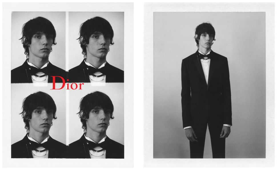 Dior Homme's Black Carpet Collection Is Full of Deconstructed Formalwear