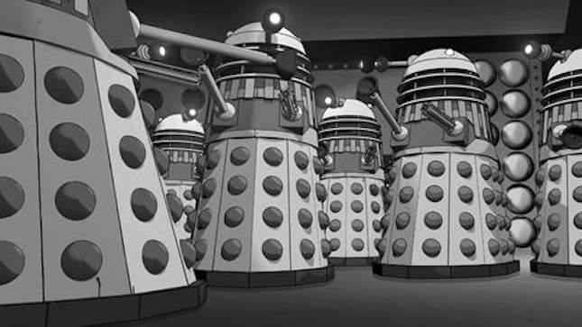 'The Power of the Daleks' Animates a Lean 'Doctor Who' Year