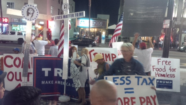 Trump Supporters Band Together to Defend Donald's Star on Hollywood Boulevard