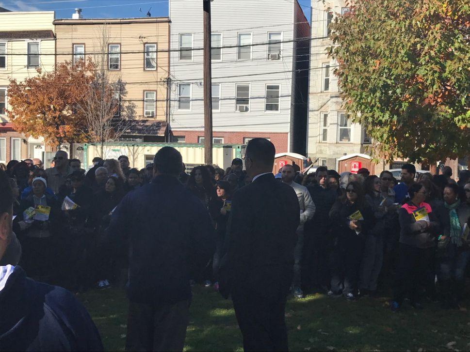 Stack Leads 400-Strong Volunteer Army into Jersey City