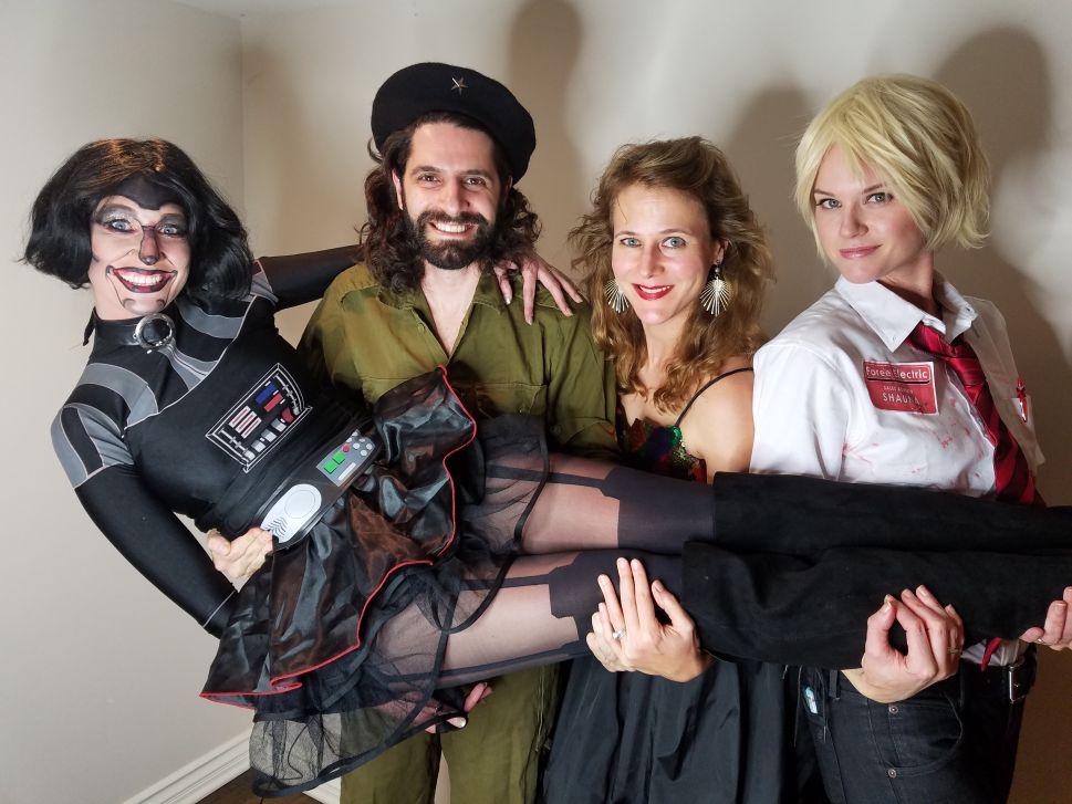 New York Social Gadfly Jon Levy Haunts LA Influencers at Max Landis' Halloween Party