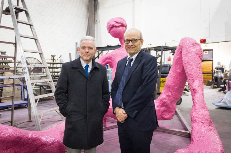 Pink 'Gumby' Finally Welcomed Home in Queens