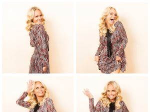 Kristen Chenoweth,, photographed in midtown Manhattan last week.
