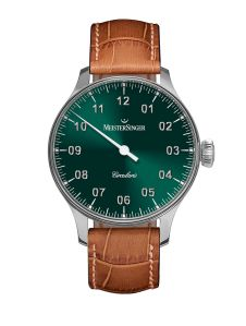 Sure, the single hand takes some getting used to, but it's worth the investment because wearing this watch signals a sea change in your approach to time. Suddenly, the exact time doesn't matter that much anymore. $4,475