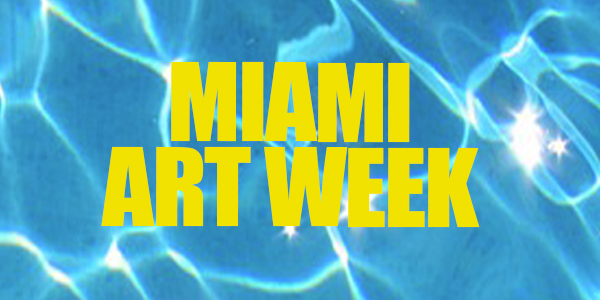 The Only Map You'll Need for Miami Art Week