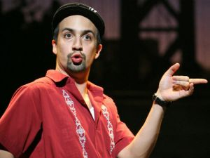 Lin-Manuel Miranda in the original Broadway production of In the Heights.
