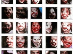 Of 450K votes, these faces were chosen as the scariest.