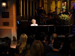 Kate McKinnon as Hillary Clinton on Saturday Night Live.
