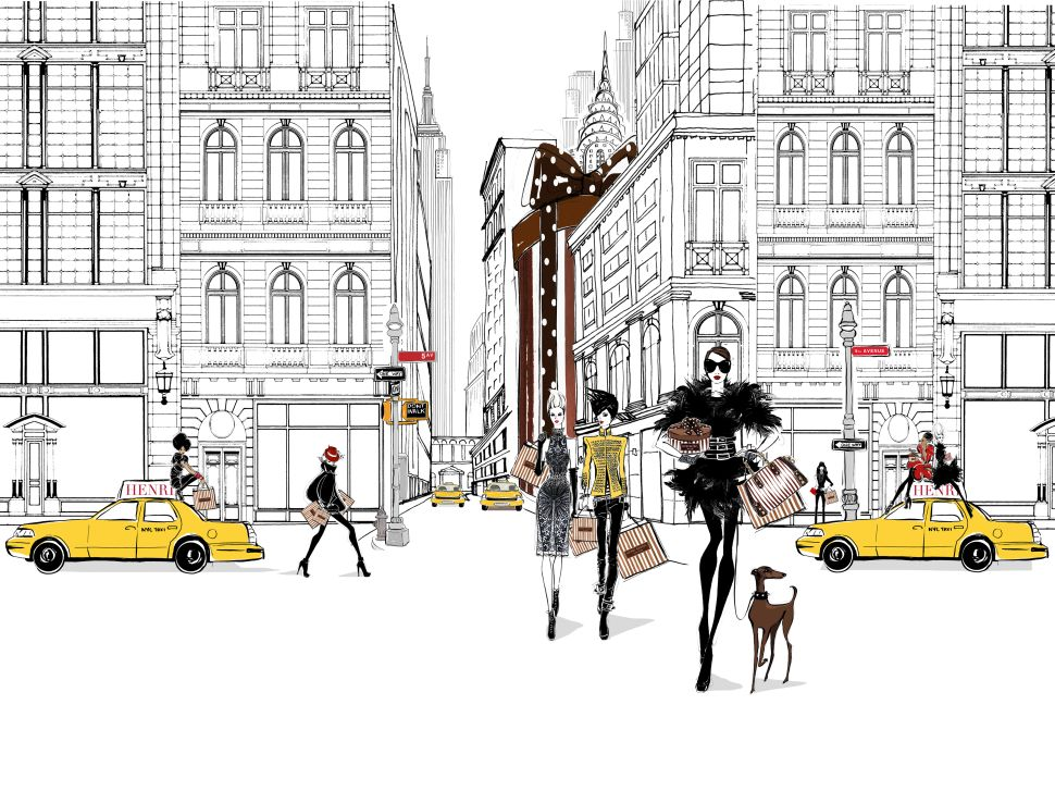 A Fashion Illustrator's Guide to the Perfect New York Day