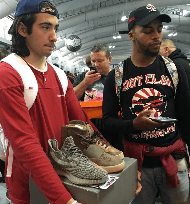 Teens Spent and Traded Over $3 Million At Sneaker Con