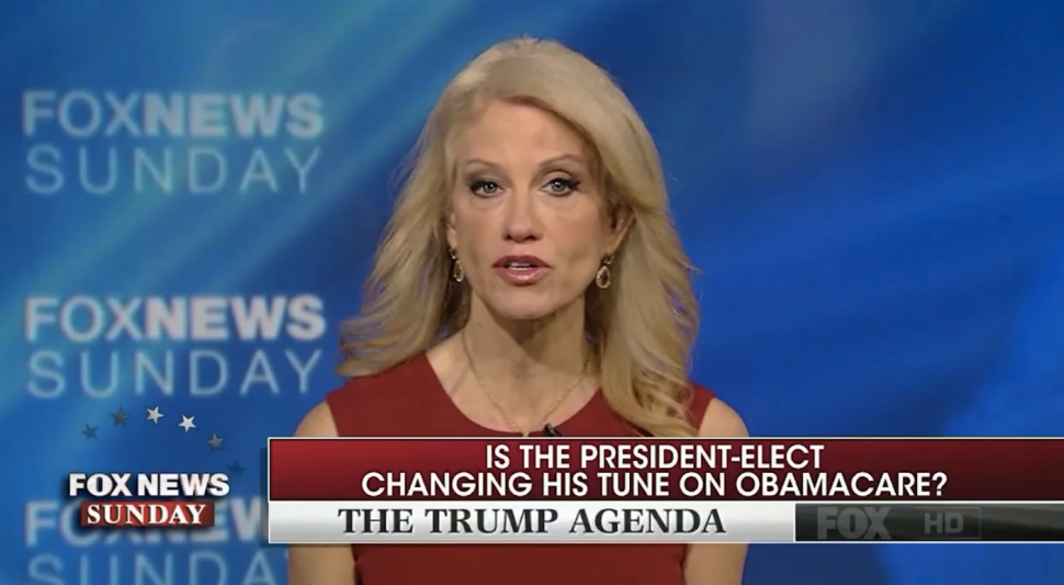 Kellyanne Conway on Fox: 'Gravy Train Is About to Have Its Wheels Blown Off'