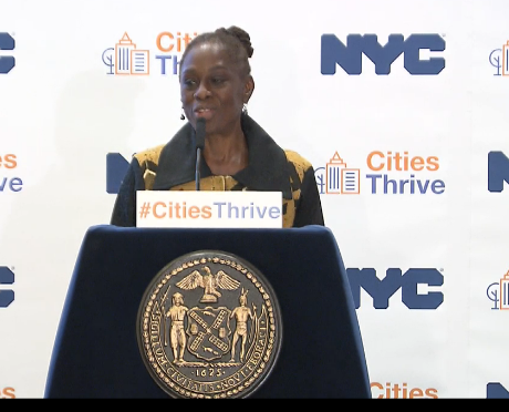 NYC First Lady Urges Feds to Fund Fight With Mental Health Crisis