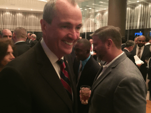 Democratic frontrunner Phil Murphy.