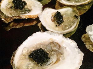 The Champagne & Caviar Oyster