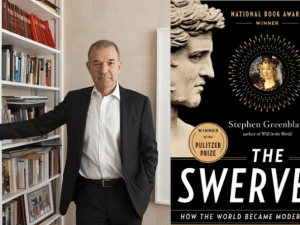 Stephen Greenblatt, author of The Swerve