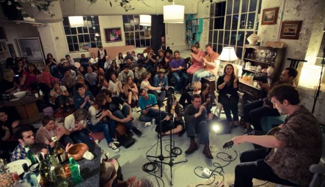 Sofar Sounds puts on incredible, intimate concerts with local artists in cities around the globe