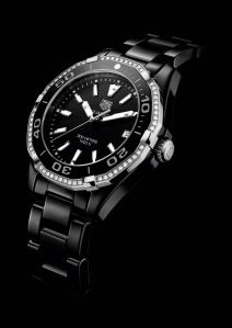 Water resistant to 300 meters, this is a real sports watch, built to take just about anything you can throw at it, but it's also feminine and beautiful. $3,750