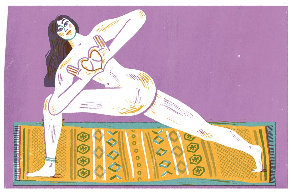 The Cure for a Broken Heart? Naked Yoga