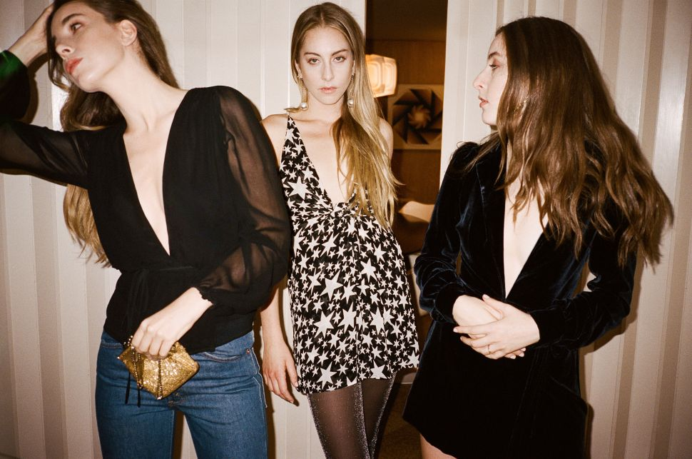 Haim and Reformation Team Up for a Rockstar-Inspired Collection