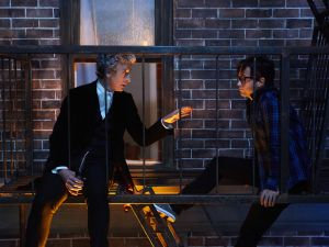 """The Doctor and Grant Gordon (aka """"The Ghost"""")"""