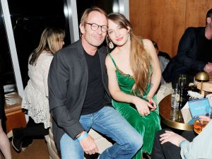 Simon Kirke's daughter Jemima resides across the bridge in Brooklyn.