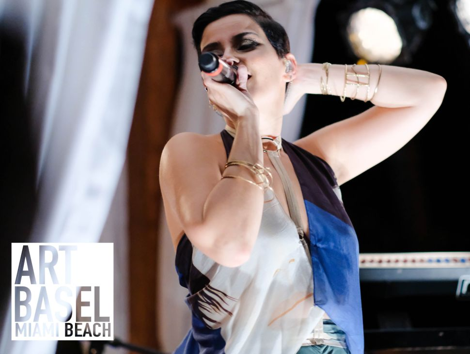 Nelly Furtado Was Enlisted to Debut H&M x Alex Katz at Art Basel 2016