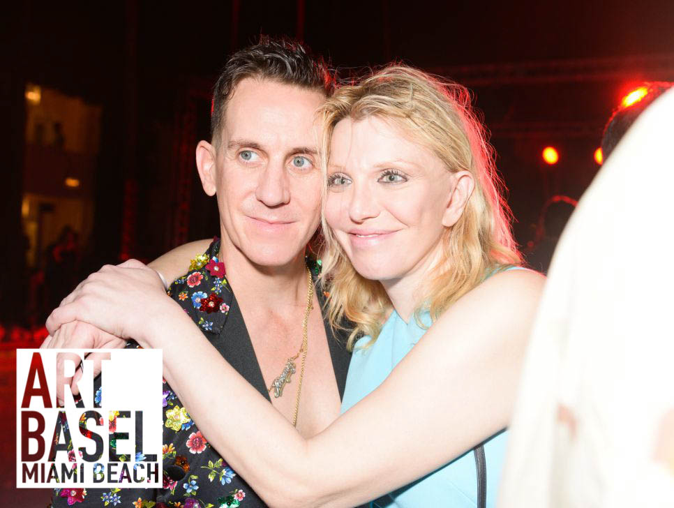 Venus Williams, Courtney Love Party Poolside at Moschino's Art Basel Blowout