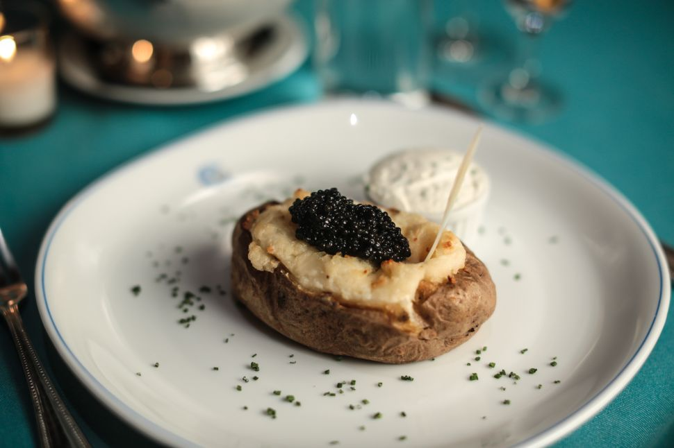 This Caviar Hotspot From Paris is Hidden in TriBeCa