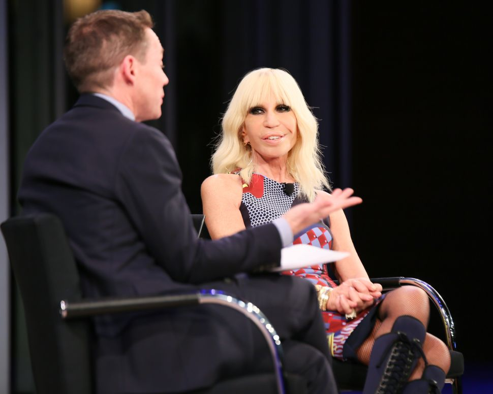 Donatella Versace on the Need for New Supermodels