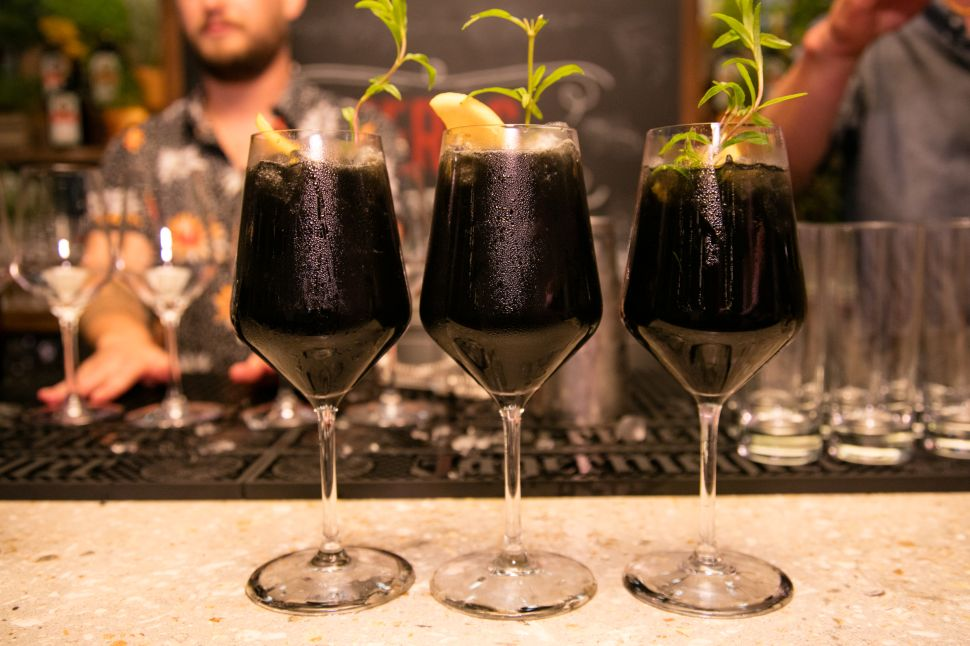 Mixologists Are Turning to This Surprising Ingredient to Turn Cocktails Jet-Black