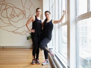 Mahri Relin and Lauren Rodriguez at Body Conceptions.