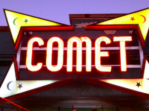 The Comet Ping Pong pizzeria.