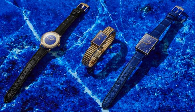 A trio of Gomelsky watches.